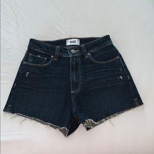 Paige Jean Shorts Size 25